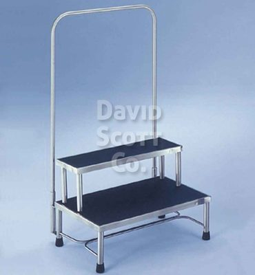 Mr Safe Padded Stool With Casters