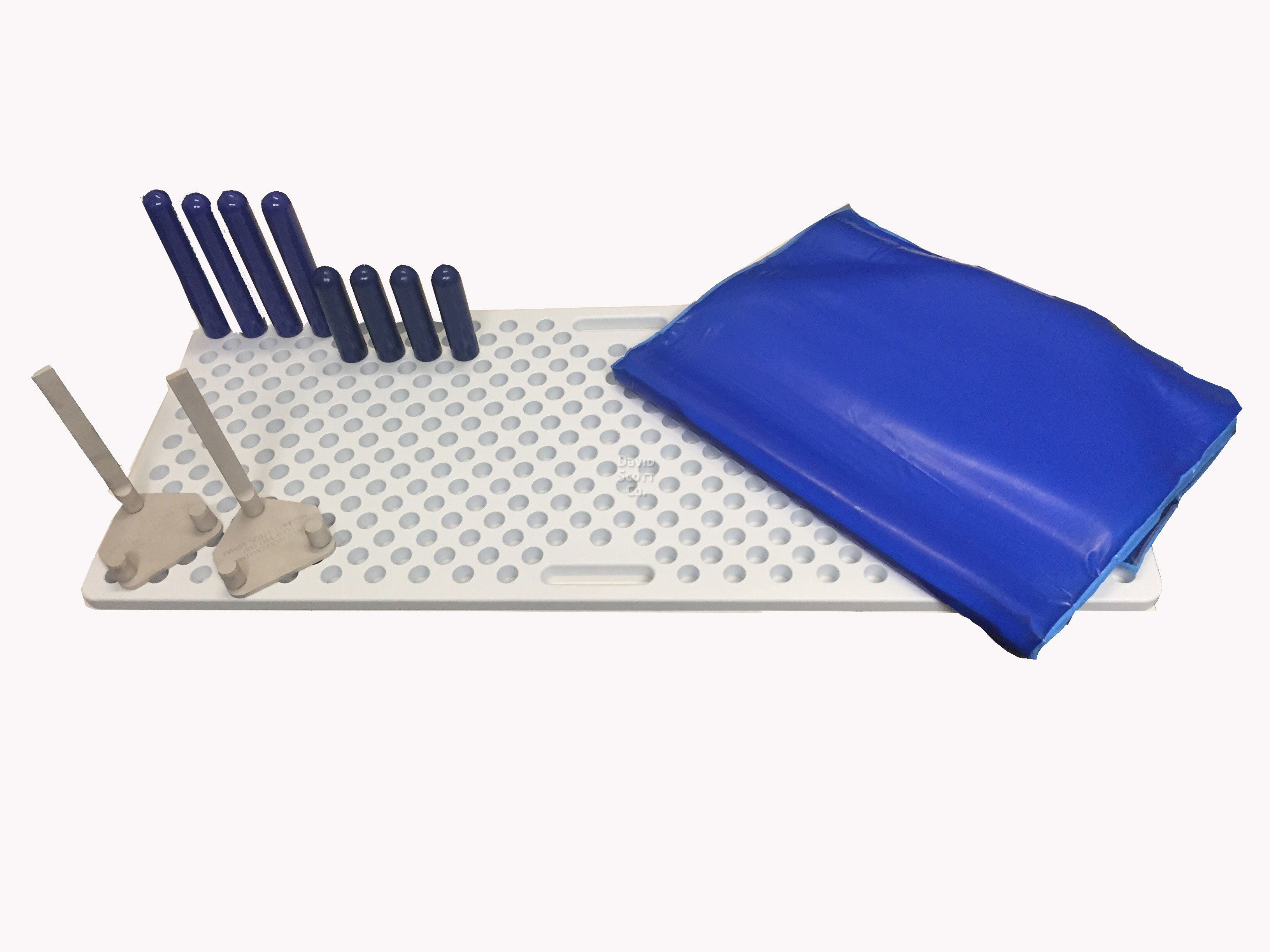 Surgical Peg Board Positioner With Metal Pegs