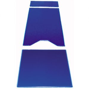 BD2130 Gel 3 Piece Table Gel Pad Set with 2 Cutouts