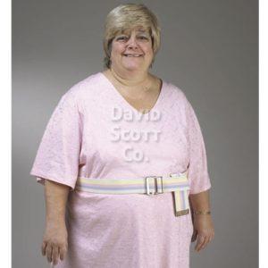 Gait Belt, Bariatric, Pastel, Metal, Cotton, Heavy Duty Webbing
