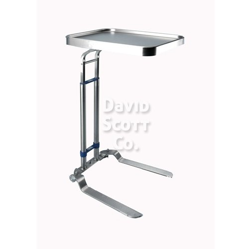 Heavy Duty Foot Operated Adjustable Mayo Stand 16 Quot X 21 Quot Tray