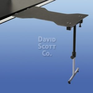 BD4400HT Radiolucent Hourglass Hand Surgery Table w/ single leg mounts to OR Table or Stretcher