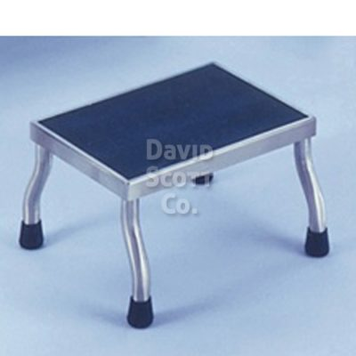 "7577SS Stainless Steel Step Stool MR-Safe 18""x12""x8""H"