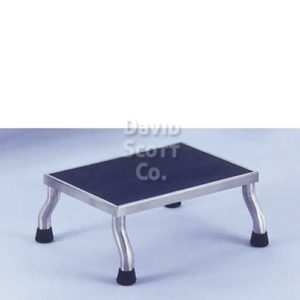 "1677SS Stainless Steel Step Stool 30"" x 12"" x 8"" MR-Safe 7761MR"