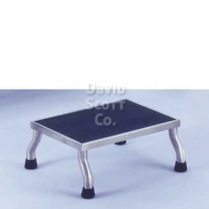 """1677SS Stainless Steel Step Stool 30"""" x 12"""" x 8"""" MR-Safe 7761MR"""