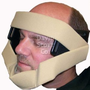BD050-HCS Disposable Head and Chin Strap for Skytron®, OSI®, Berchtold®, Steris®, & Schuremed­™ shoulder chairs
