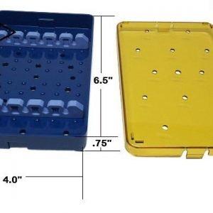 Plastic Sterilization Trays, Lids, Mats