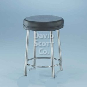 7445MR MR-safe padded stool