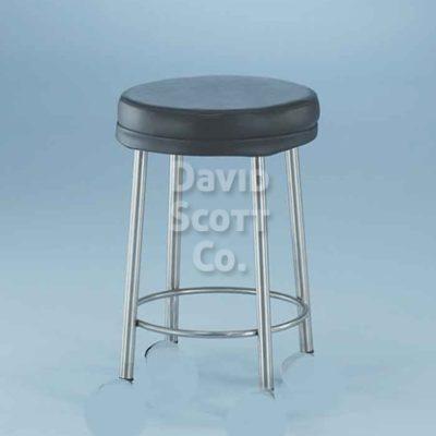 7445MR MR-safe padded stool