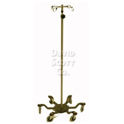 DSC020-SS IV pole 6 leg Spider Base Extra Sturdy - Stainless Steel