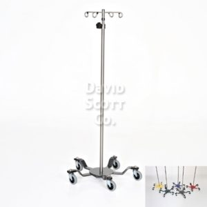 DSC019-SS IV pole 5 leg Spider Base Extra Sturdy - Stainless Steel