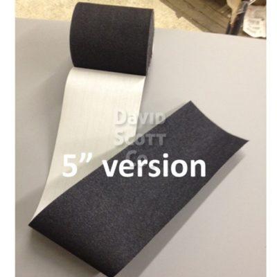 "SWQTR5x30GY-10 5"" x 30' Disposable Velcro® Vel-Wrap Hook & Loop (Restraint) - Case of 10"