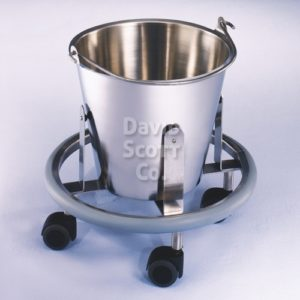 7766MR MR Safe Stainless Steel 13 quart Kickbucket