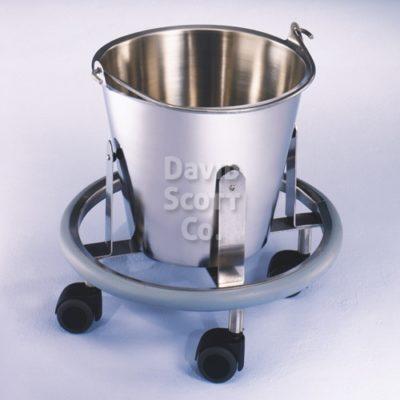 7766MR MR Safe Stainless Steel 13 quart Kickbucket