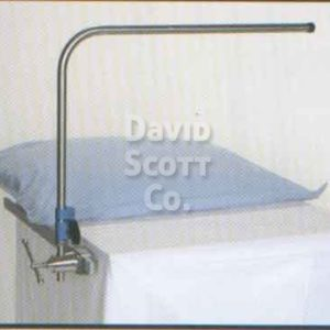 "BD206 Adjustable Height Rigid Anesthesia Screen. Fits 5/8"" round post"
