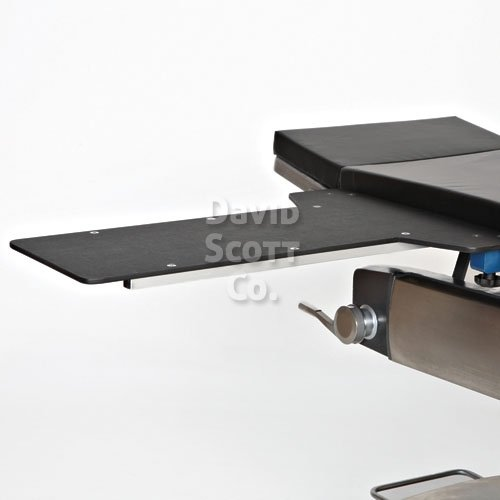 Radiolucent Hand Table Has Integral Clamps David Scott