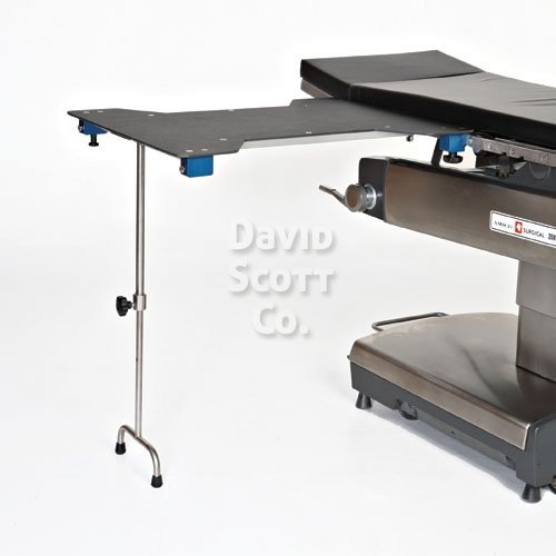 Hourglass Hand Surgery Table W Integrated Clamps And T Leg