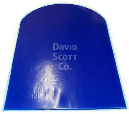 Trimmable gel pad for motorcycle