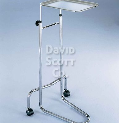 Chrome Mayo Instrument Stand