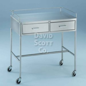 7856SS Anesthesia/Utility Table