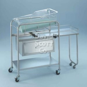 BL8047SS Bassinet with drawer