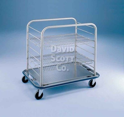 Stainless Steel Open Case Cart