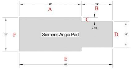 Siemens Angio Pad
