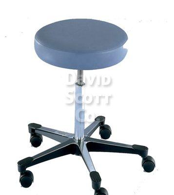 ST1113 5- Leg Adjustable Exam Stool w / Aluminum Base