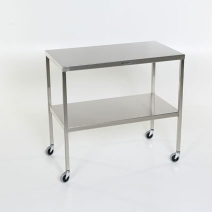 Stainless Steel Table with lower shelf