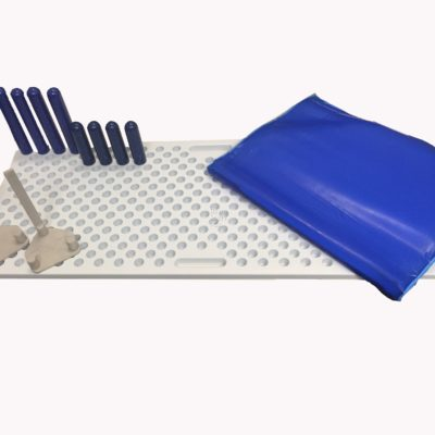 surgical peg board positioner
