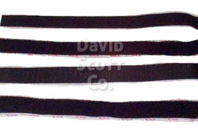 "2"" x 12"" Velcro® Kits, Adhesive Backed Hook and Loop"