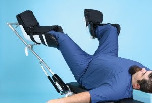 Great white bariatric surgical stirrups