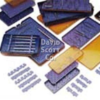 "4600 Micro Sterilization Tray 4"" x 6.5"" x 3/4"""