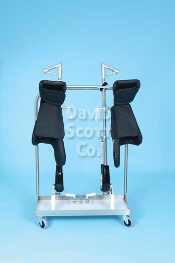 Premium Lift Assist Surgical Stirrups Raised Lateral Fin