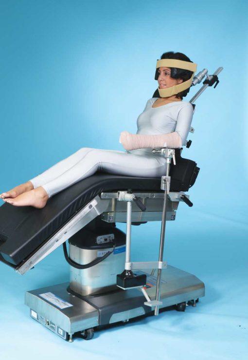 Shoulder Assistant Limb Positioner Foot Operated