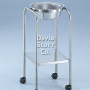 7807SS-HB-MR Baker Single Basin Solution Stand with H-Brace, 8.5 qt