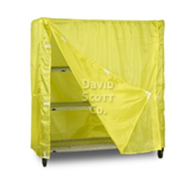 4001 Cart Cover Pic Yellow Large