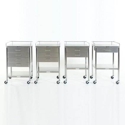 16-x-20-utility-prep-tables-with-drawer-and-gaurdrail-locking-casters