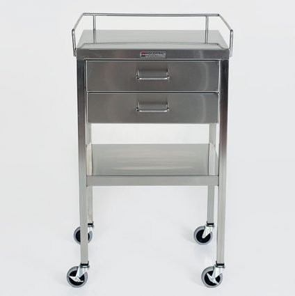 Anesthesia Utility Cart with drawers.