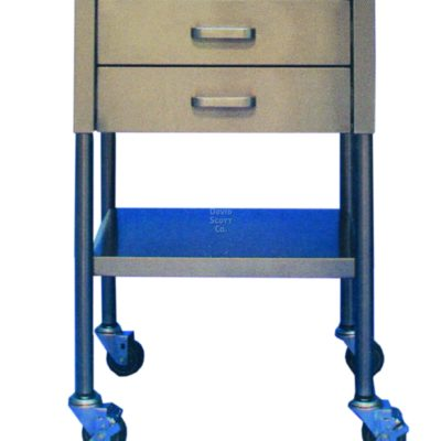 BD521 2 drawer utility table