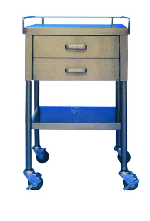 Stainless Steel Utility Table 2 Drawer