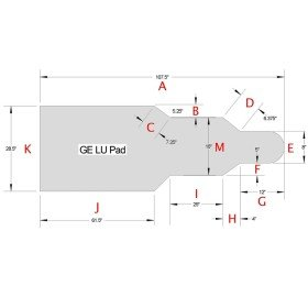 Ge LU Table pad