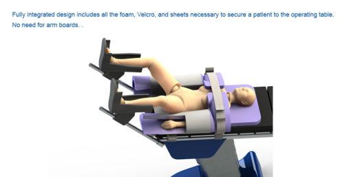 Safe T Secure Steep Trendelenburg Positioner Robotic Surgery