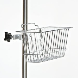 IV Pole Wire Basket Holder