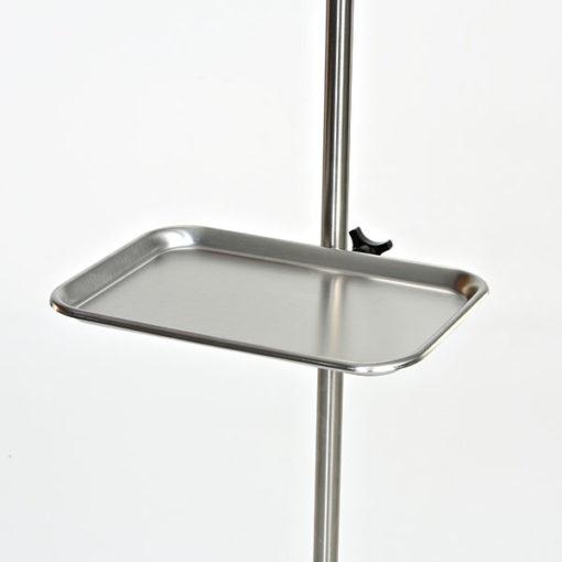 Iv Pole Add A Tray Iv Pole Instrument Tray David Scott