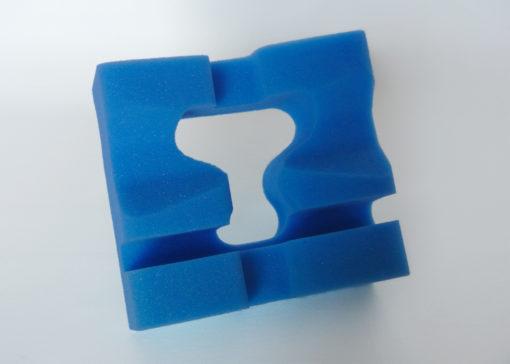 Foam Slotted Prone Head Positioner Disposable Foam Prone