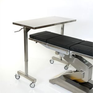 Adjustable Height Table-overbed