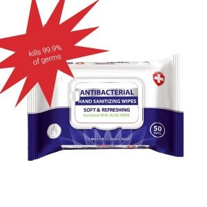 DSC-71090 Antibacterial Wipes
