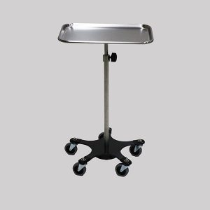 Adjustable Weighted Base Mayo Stand